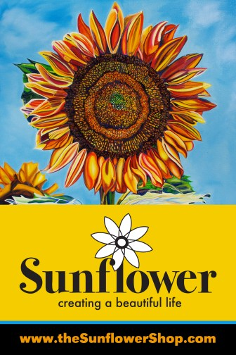 Sunflower is the name of my new shop!