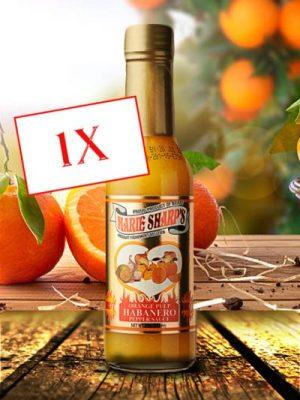 Marie Sharp's Orange Habanero hot sauce