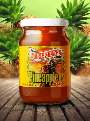 Marie Sharp's pineapple jam