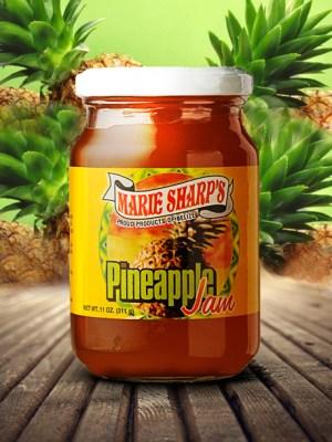 Marie Sharp's pineapple jam