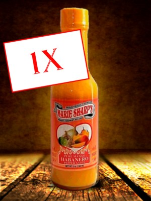 Marie Sharp's Mango Habanero hot sauce