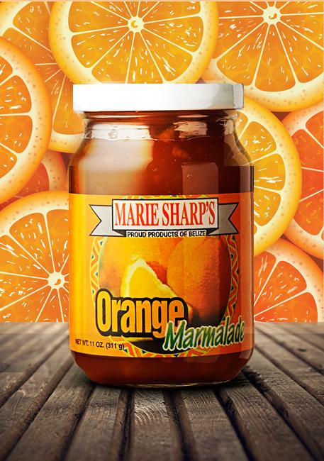 Marie Sharp's marmalade