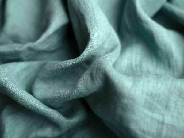 Leinen gewaschen Uni 200 g/m2 | Salbei