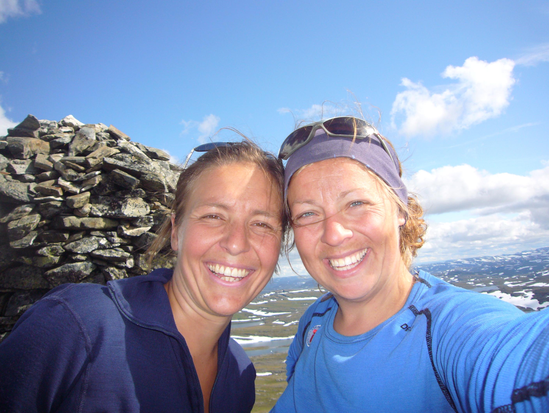 Toppen av Hårteigen og Hardangervidda