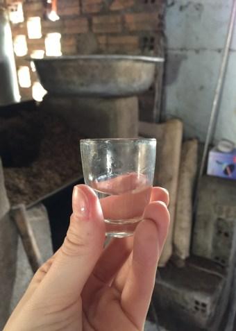 Rice Whisky in Dalat, Vietnam