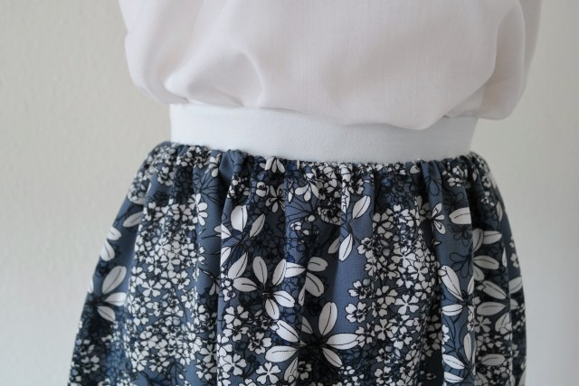 DIY Nem nederdel