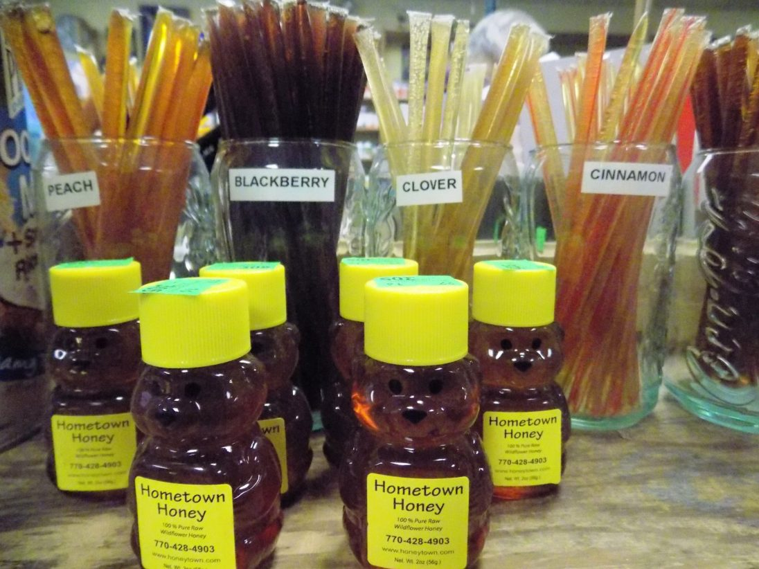 Pure Raw Honey &  Honey Straws