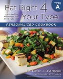 Eat Right 4 Your Type Personalized Cookbook Type A: 150+ Healthy Recipes For Your Blood Type Diet Dr. Peter J. D'Adamo Kristin O'Connor