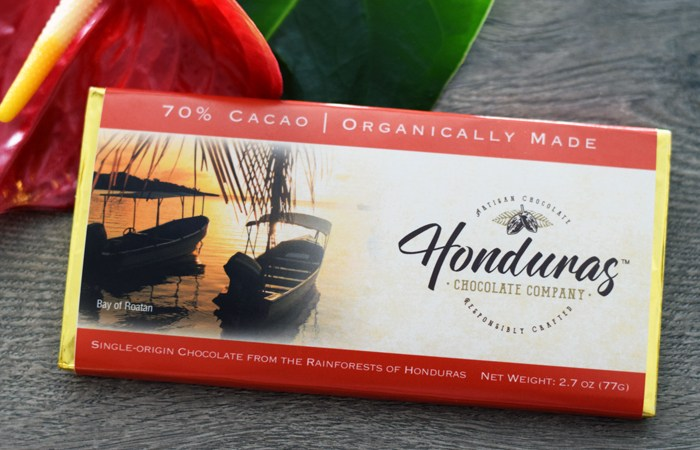 70% Cacao Dark Chocolate Bar