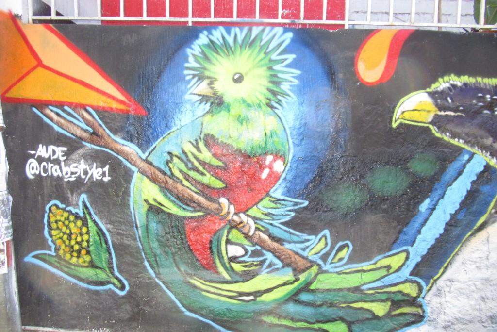 Street Art in Guatemala