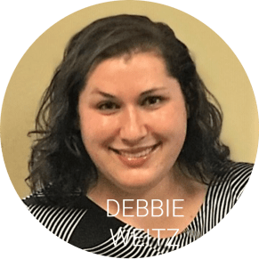 Debbie headshot with name