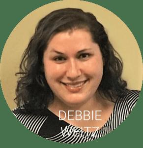 Debbie headshot with name