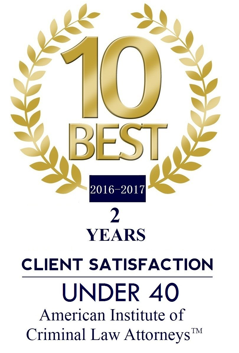 2 Years 10 BEST CLA Under 40 - Areas of Practice
