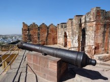 Cannons for protecting the city