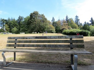 When I die, I do NOT want a tomb stone...I want a bench. Where people can sit and enjoy a nice, shaded view of a lake or the ocean.