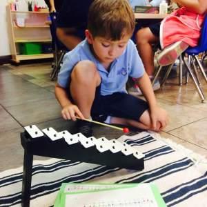 Montessori Music Notes Lesson