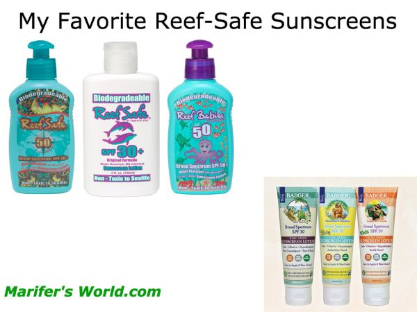 Switch to Coral Safe Sunscreens