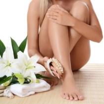 Dry Brushing Legs