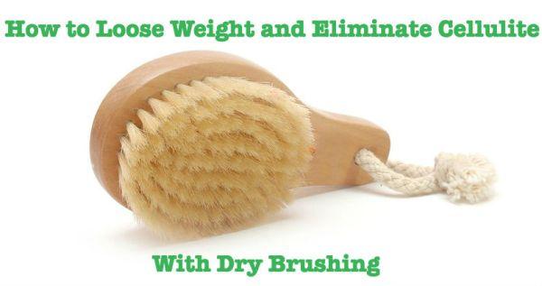 Dry Brushing of the Skin