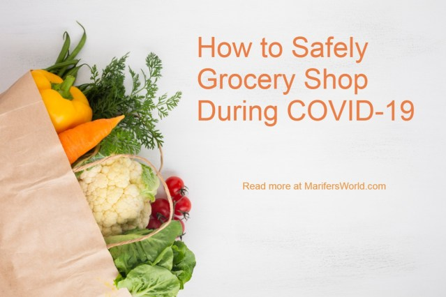 How to safely grocery shop during COVID-19