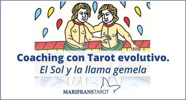 Coaching con Tarot evolutivo. El Sol y la llama gemela