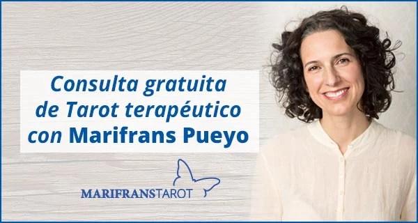 Consulta tarot terapéutico con Marifrans 20 de julio 2018