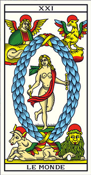 El Mundo Tarot millenium tarot de marsella tarot terapéutico tarot evolutivo