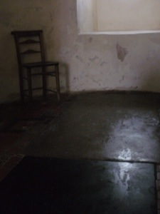 Chair, Burnham Deepdale church. Digital photo (unaltered). Mari French.