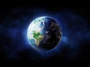 Die Erde im Weltall