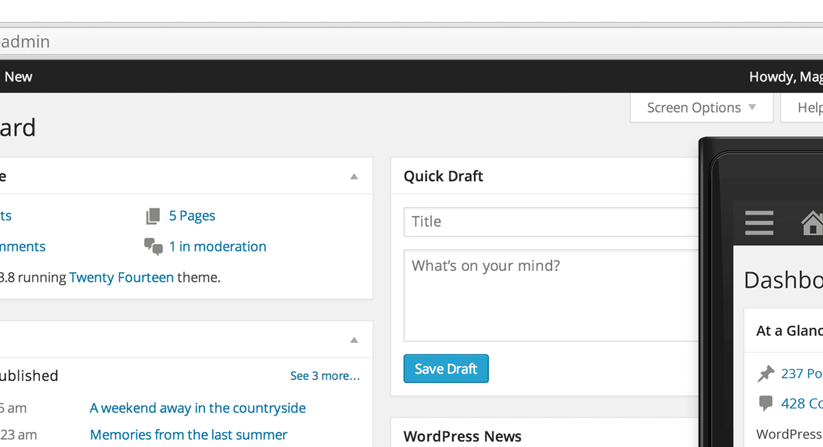 Update: WordPress 3.8 ist da!