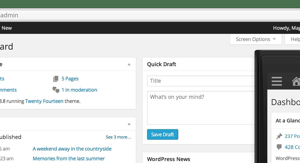 Update: WordPress 3.8 ist da!