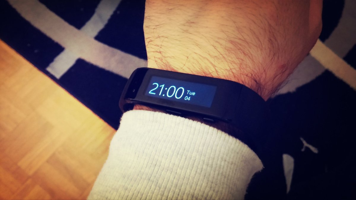 Hallo Microsoft Band, Goodbye Jawbone UP24