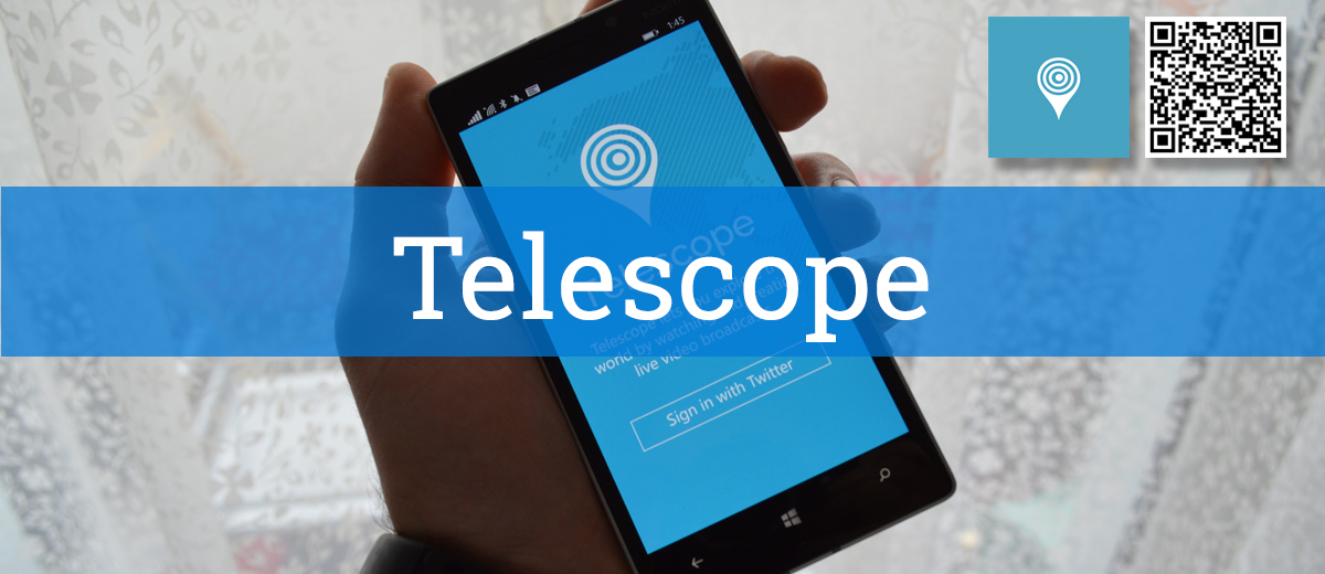 Telescope für Windows Phone