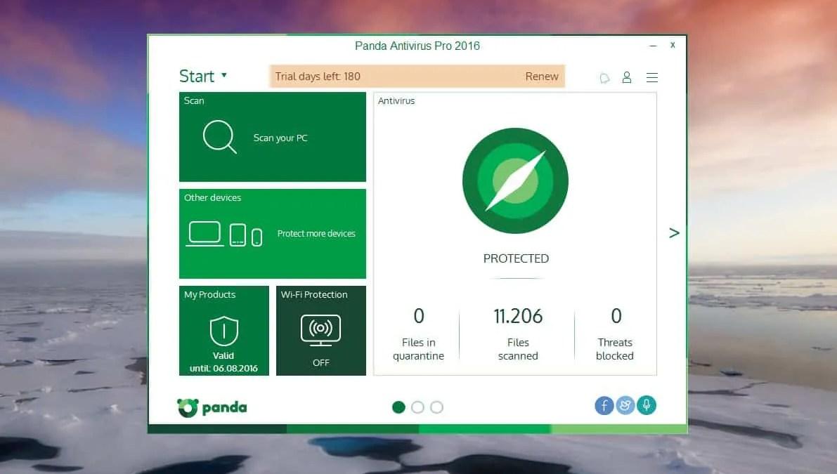 Kostenlos: Panda Antivirus Pro 2016