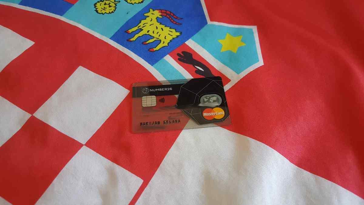 Erfahrungsbericht: Number26 Mastercard in Kroatien