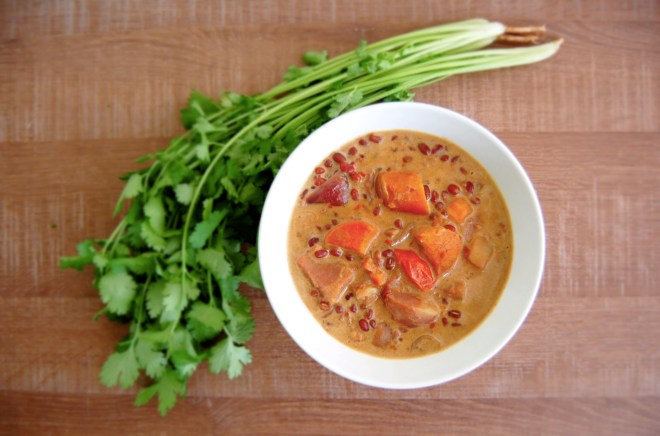 Sweet Potato & Mung Bean Curry