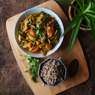 Easy Veggie Chicken Curry