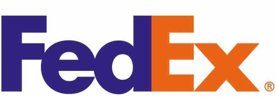 De pijl in het logo van FedEx