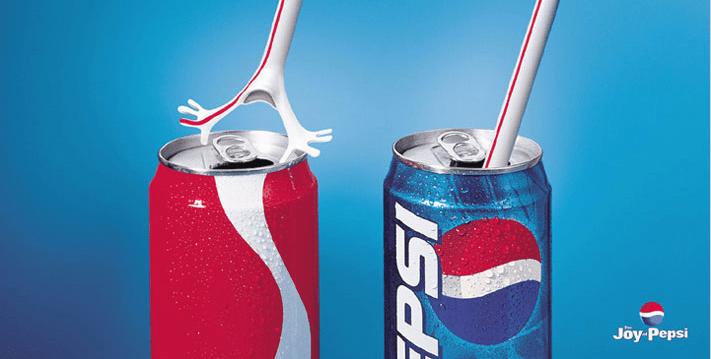 Pepsi vs Coca Cola Rietje Straw Ad