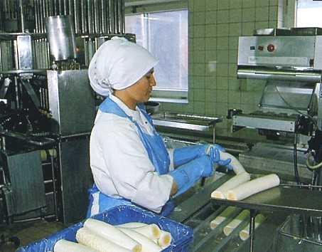 een eirol maken, een rol gekookt ei maken