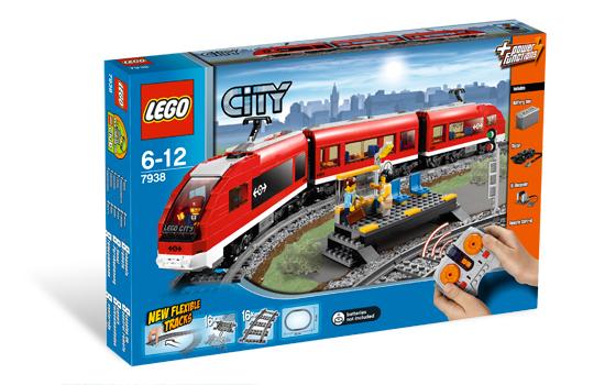Lego trein 7938