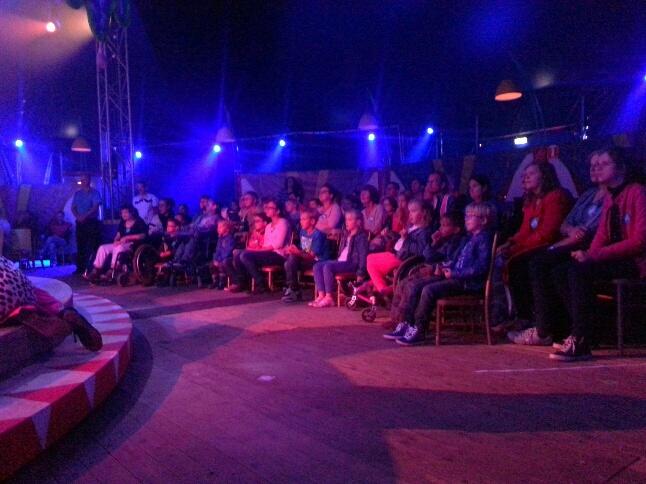 volle bak bij Circus Boemtata