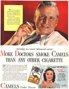 Doctor Smokes Camels Doctors Recommend Marijuana