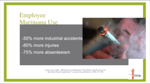 Commercialized Marijuana The Employer impact