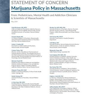 Statement of Concern Marijuana Policy in MA