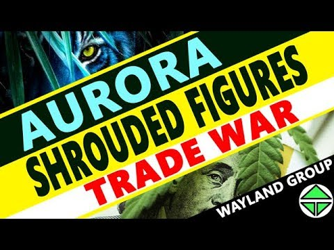 Aurora Cannabis SHROUDED FIGURES! STOCKS, Trade WAR! and