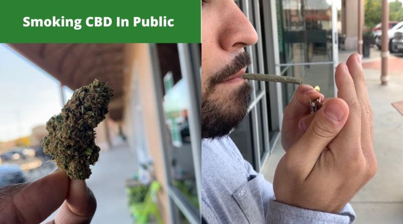 Can I Smoke CBD in Public?