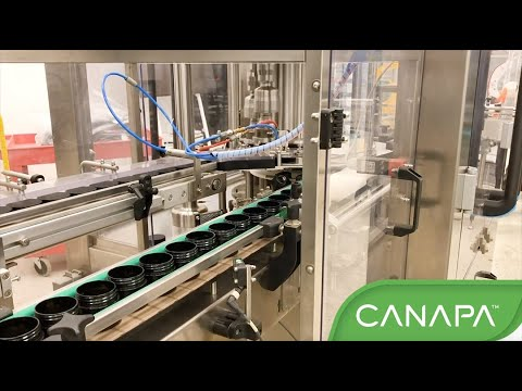 Canapa Dual Container Cannabis Filling System