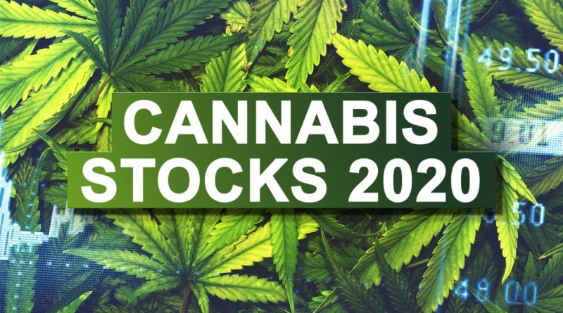 Cannabis Stocks. Best Marijuana Stocks In 2020. Canopy Growth Stock