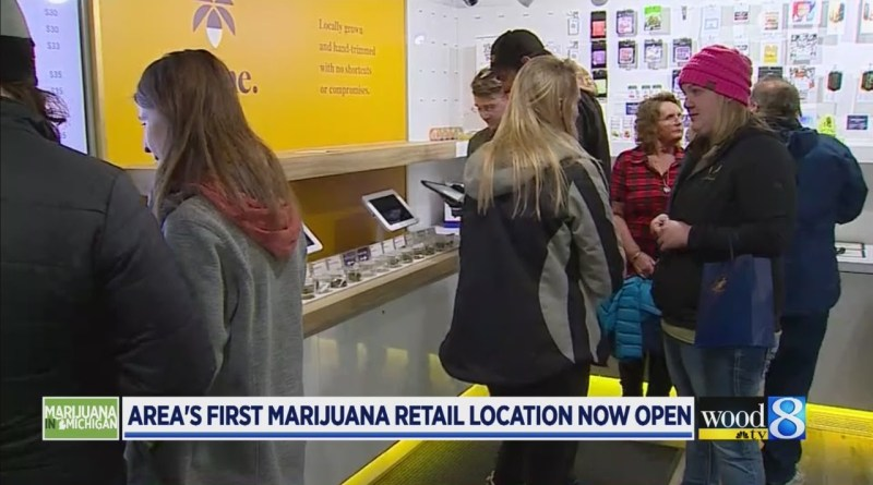 W. MI's first marijuana retail location now open